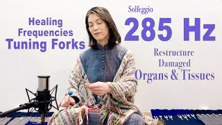 285Hz Solfeggio Frequency Tuning Forks- Heal Organs/Tissues/Energy