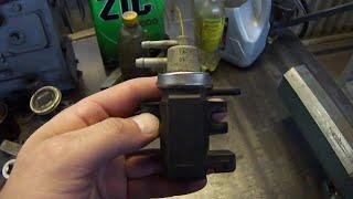 N75.Клапан регулировки наддува.Ремонт клапана N75.Reparatur-Ventil N75.(, 2015-10-15T22:03:16.000Z)