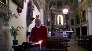 NOS AUTEM GLORIARI, introito gregoriano, studio di Giovanni Vianini, Milano, Italia