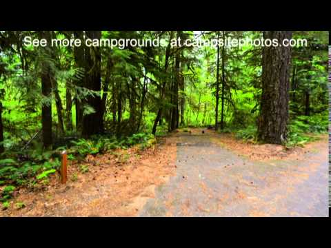 Paradise Campground, Willamette National Forest, Oregon