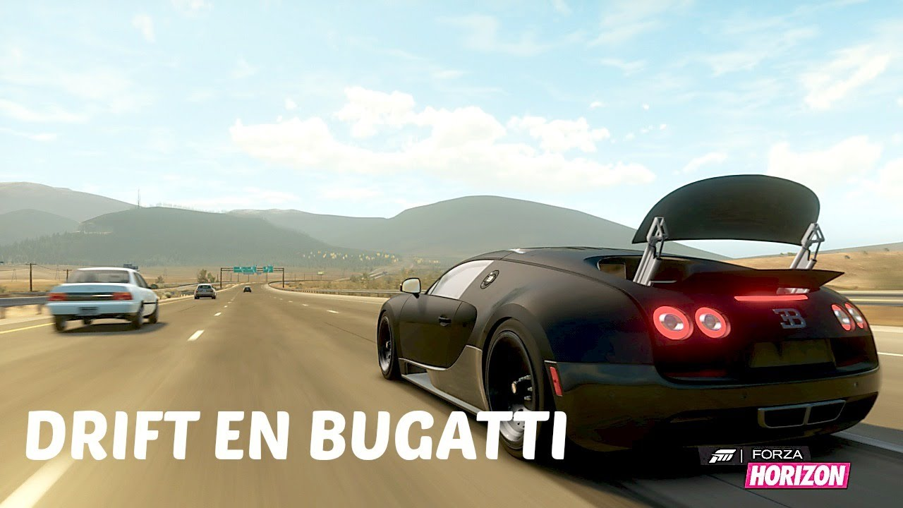 drift en bugatti veyron sur forza horizon youtube. Black Bedroom Furniture Sets. Home Design Ideas