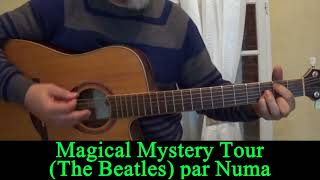 Magical Mystery Tour (The Beatles) acoustic guitar cover