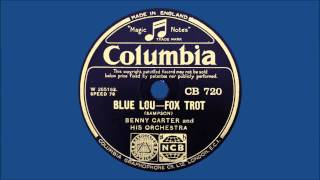 Benny Carter & His Orchestra - Blue Lou