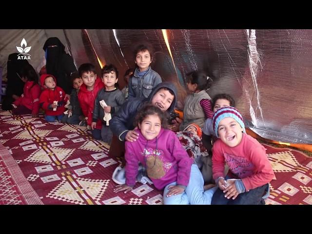 أوضاع إنسانية صعبة يعيشها أهلنا المهجرين في مخيمات ناحية راجو بريف حلب