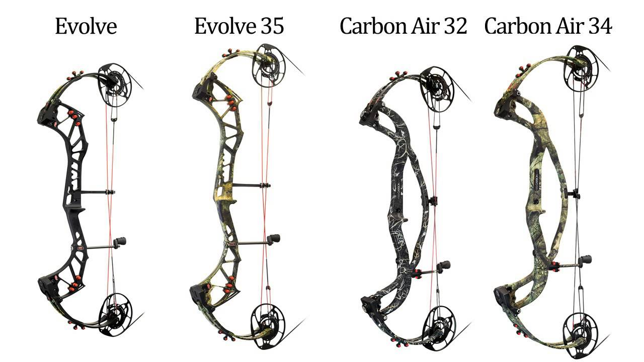 New 2017 PSE Evolve Cam System Hunting Bows - The Best And
