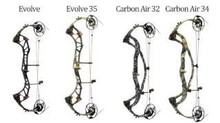 2017 pse evolve cam system hunting bows