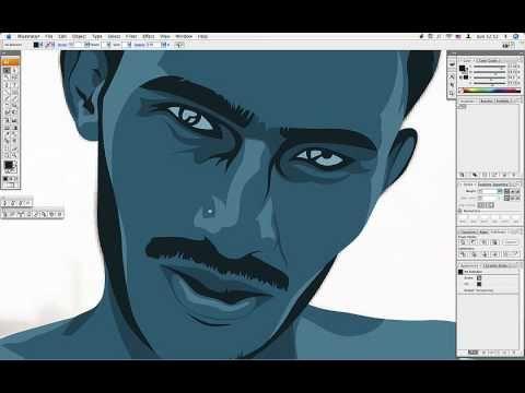 Tutorial Illustrator - Ilustração a partir de foto