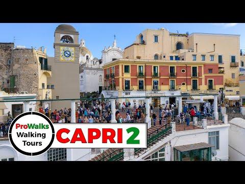 Capri Town and La Piazzetta Walking Tour