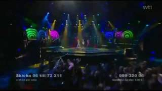 Alcazar - Stay The Night. Melodifestivalen 2009