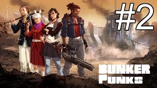 bunker Punks - Part 2 - Corn Based Blindness (Let's Play Bunker Punks / Gameplay)