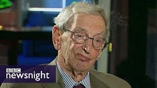 Jeremy Paxman interviews historian Eric Hobsbawm in 2002  - BBC Newsnight