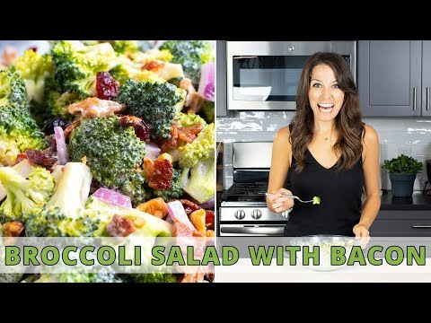 The BEST Broccoli Salad with Bacon | Easy to Prep-Ahead!