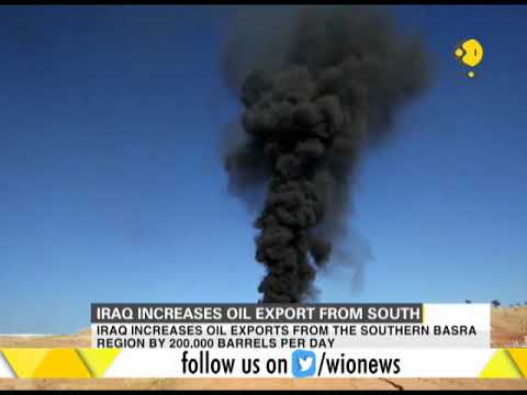 Iraq increases oil export from southern region