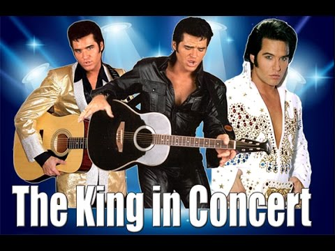 Johnny Thompson Elvis Impersonator - Elvis Tribute Artist Show - The King in Concert