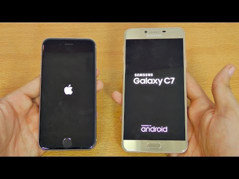 Samsung Galaxy C7 Vs Iphon 7