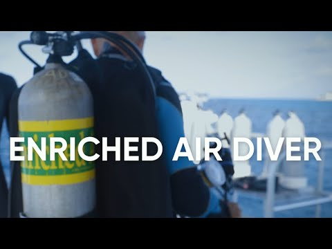 Preview PADI Courses | PADI Enriched Air Diver Specialty Course
