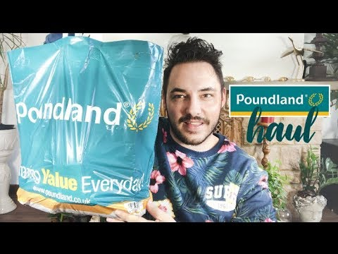 Shop with me huge Poundland Haul (craft, foods, back to school)