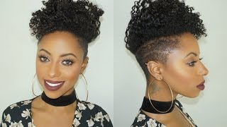 SUPER defined Flat twist on short natural hair || Jessica Pettway