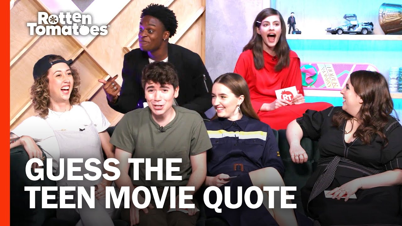 The Booksmart Cast Play 'Guess the Teen Movie Quote' | Rotten Tomatoes
