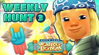 🤘 Subway Surfers Weekly Hunt - Collecting Skater Stickers in Venice Beach (Week 3)