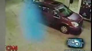 November 14, 2007 - CNN-Cloaked Alien or Ghost on cam?