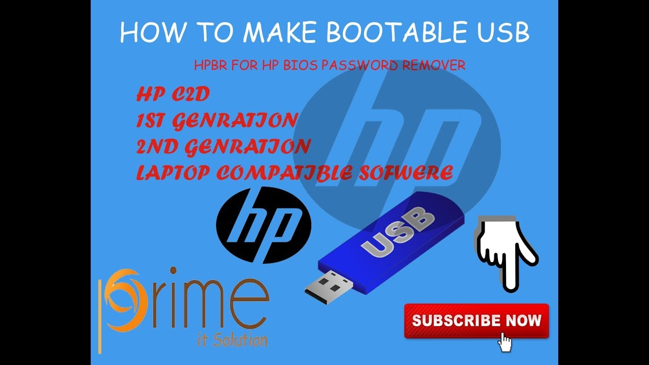 HP BIOS PASSWORD REMOVER FREE DOWNLOAD-HPBR ,USB SOFTWARE