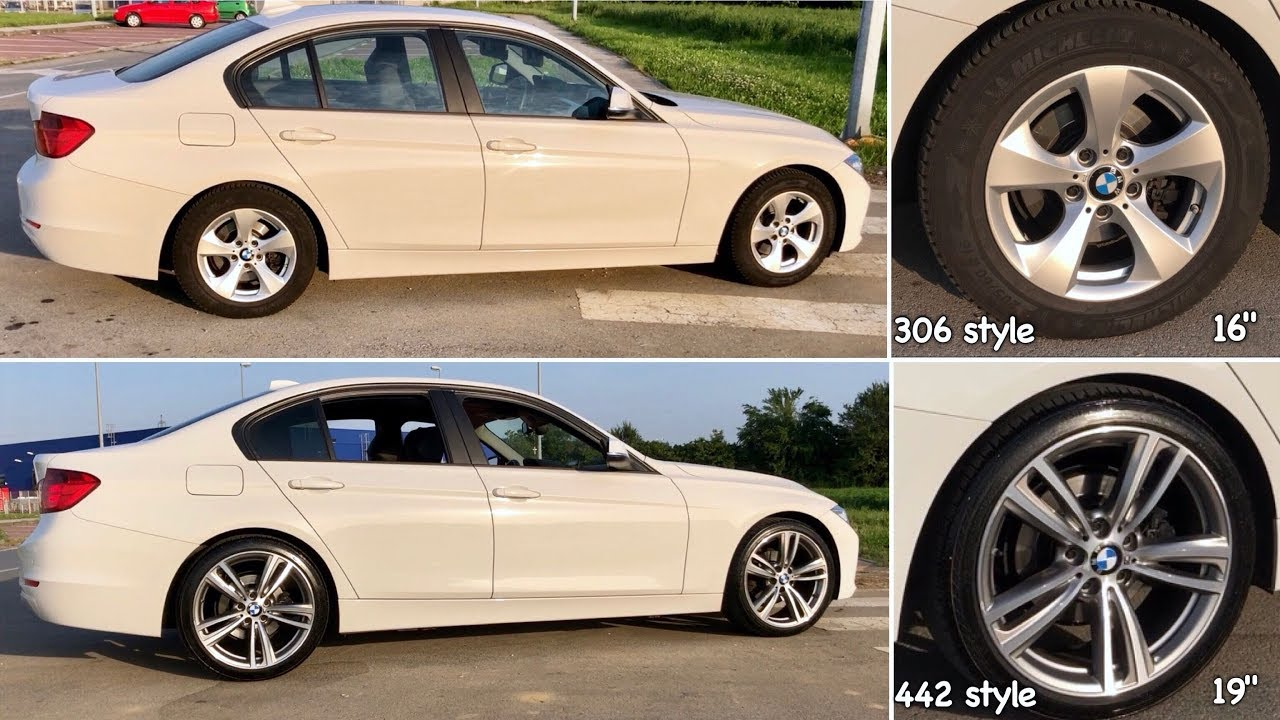 Bmw F30 Wheels Upgrade From 16 To 19 Inch Youtube