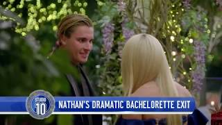 Nathan Reflects On His Dramatic Exit From 'The Bachelorette' | Studio 10