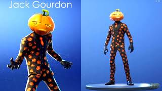 NEW SKINS AND EMOTES IN FORTNITE😁😃