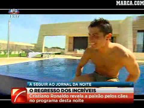 Cristiano ronaldo 39 s home in madrid 2010 youtube - Casa de cr7 en madrid ...