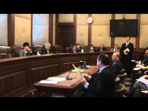 2/11 Senate Hearing on SB531 Minimum Wage Increase Part 2
