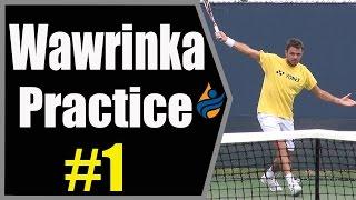 Stan Wawrinka Practice Session #1 (Cincinnati 2014)