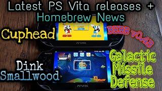 Latest PS Vita ręleases + Homebrew News