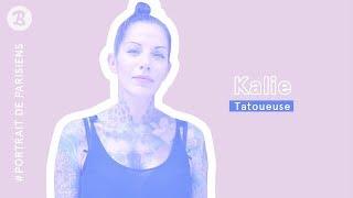 [ PORTRAITS DE PARISIENS ] Kalie art tattoo, emblématique tatoueuse