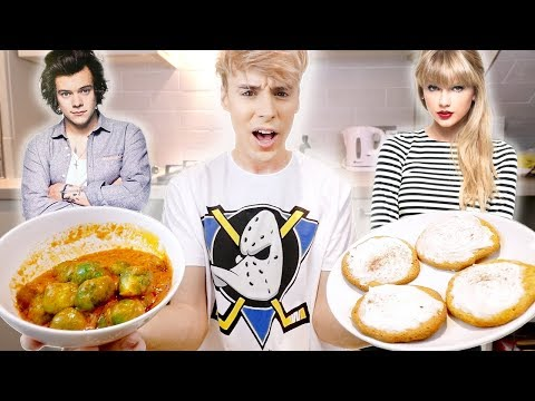 i made recipes from FAMOUS PEOPLE for a day