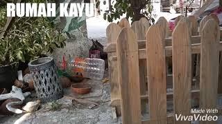 Rumah Kayu, Asesoris Pagar Dari Kayu Pinus Dan Jati Belanda