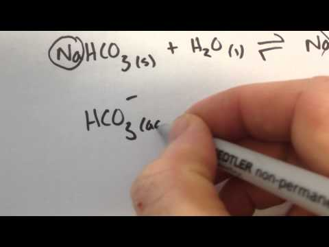 Sodium Hydrogen Carbonate Explanation