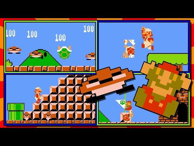Super Mario Bros. Enemy Physics Randomizer! | Funny Enemies