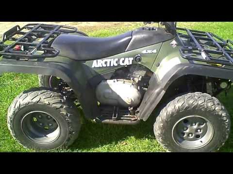 sold 2004 arctic cat 400 atv 4x4 mrp act 1200 miles makeup guides. Black Bedroom Furniture Sets. Home Design Ideas
