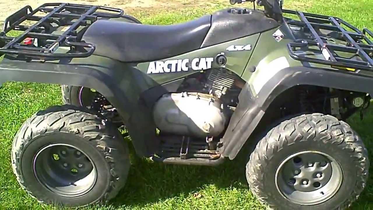 SOLD 2004 Arctic Cat 400 ATV 4X4 MRP ACT 1200 Miles  YouTube