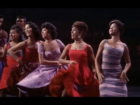 West Side Story - America - Official Dance Scene - 50th Anniversary (HD)