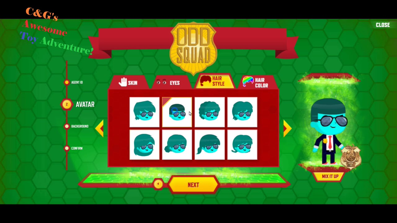 Odd Squad Create An Agent Game Create Your Own Odd Squad Agent Odd Squad Pbs Kids
