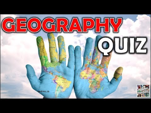 How Much Do You Know About 'GEOGRAPHY'? Test/Trivia/Quiz