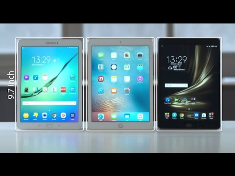 Make ZenPad 3S 10 vs iPad Air 2 vs Samsung Galaxy Tab S2 Tablet Comparison  | ASUS Pictures