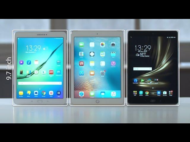 Zenpad 3s 10 Vs Ipad Air 2 Vs Samsung Galaxy Tab S2 Tablet Comparison Asus Youtube