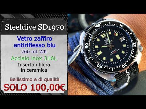 """Recensione STEELDIVE SD1970 """"Captain Willard""""⌚ Orologio di QUALITÀ ed Economico"""