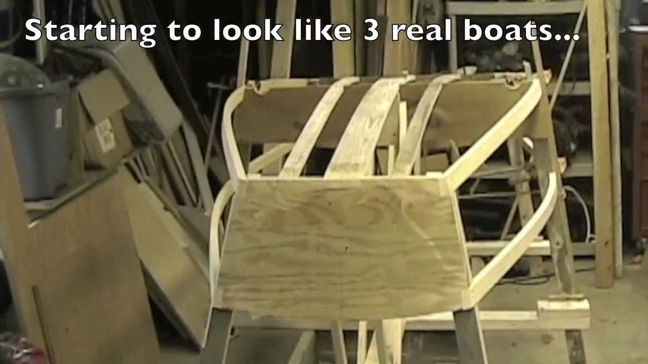 Building a plywood Optimist Pram (dinghy) - Part 4 - YouTube