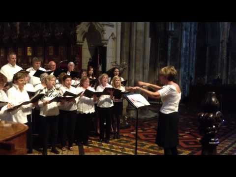 All Heavens Declare - St John Neuman's Choir - St Patricks Cathedral Dublin