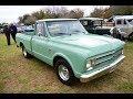 Camioneta Chevrolet C10 Modelo 1967  - 2da. Expoauto Pontevedra - Parte 2 - 06/2017.