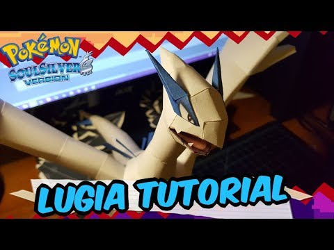 Papercraft Tutorial: How to make Lugia